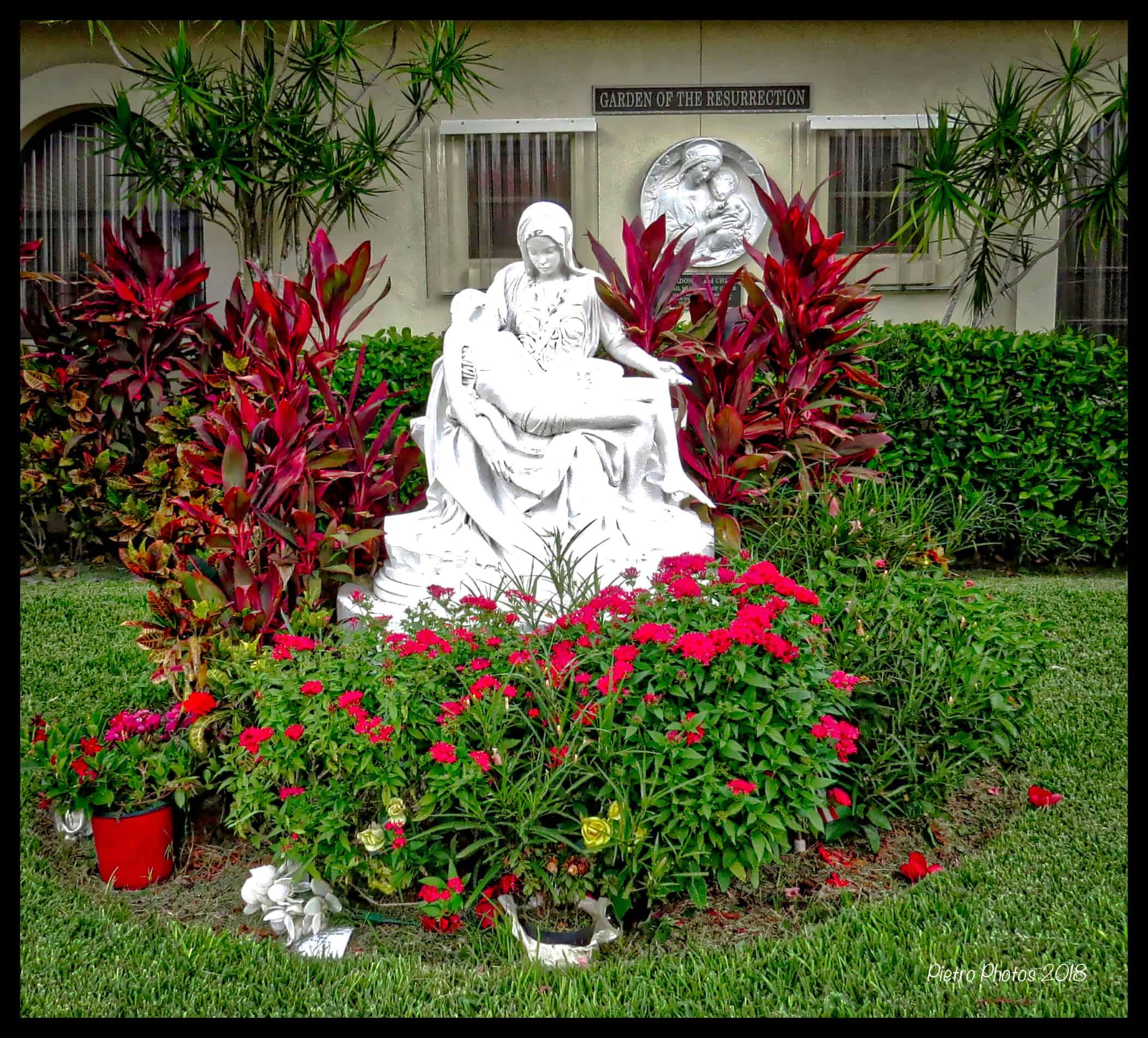 Memorial Garden 2018 – Our Lady of Lourdes Catholic Church